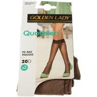 Sous-vêtements Femme Collants & bas Golden Lady Mi bas - Quotidien transparent Chair