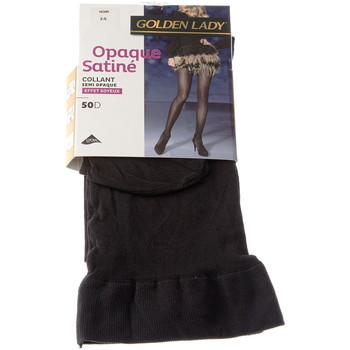 Sous-vêtements Femme Collants & bas Golden Lady Collant chaud - Opaque - Opaque Satiné Noir