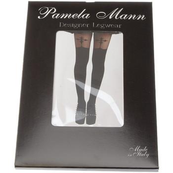 Collants & bas Pamela Mann Collant chaud - Nylon - Semi opaque - Gothic cross