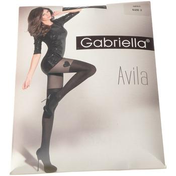 Sous-vêtements Femme Collants & bas Gabriella Collant fin - Semi opaque - Avila Noir