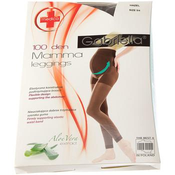 Vêtements Femme Leggings Gabriella Legging chaud long - Ultra opaque - Leggings mamma Marron