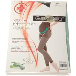 Vêtements Femme Leggings Gabriella Legging chaud long - Ultra opaque - Leggings mamma Noir