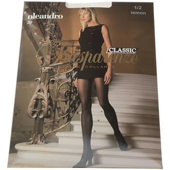 Sous-vêtements Femme Collants & bas Trasparenze Collant fin - Transparent - Oleandro Jaune