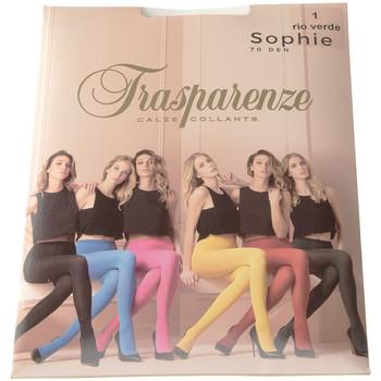 Sous-vêtements Femme Collants & bas Trasparenze Collant chaud - Opaque - Sophie Vert