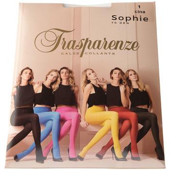 Sous-vêtements Femme Collants & bas Trasparenze Collant chaud - Opaque - Sophie Bleu