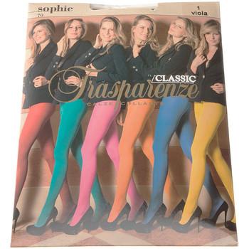 Sous-vêtements Femme Collants & bas Trasparenze Collant chaud - Opaque - Sophie Violet