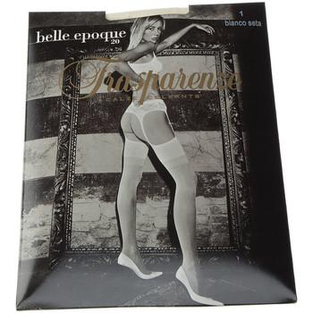 Sous-vêtements Femme Collants & bas Trasparenze Collant fin - Transparent - Belle epoque Ecru