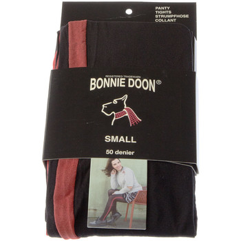 Sous-vêtements Femme Collants & bas Bonnie Doon Collant chaud - Opaque - Uniform stripe tights Noir