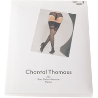 Sous-vêtements Femme Collants & bas Chantal Thomass Bas Autofixants Noir