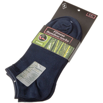 Accessoires Homme Chaussettes Intersocks Chaussettes Invisibles Fitness bamboo socks Bleu marine