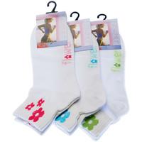 Accessoires textile Femme Chaussettes Intersocks Chaussettes Basses - Coton - Sport short Lady Blanc