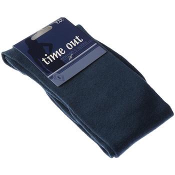 Accessoires textile Femme Chaussettes Intersocks Chaussettes Hautes - Coton - Time Out Bleu