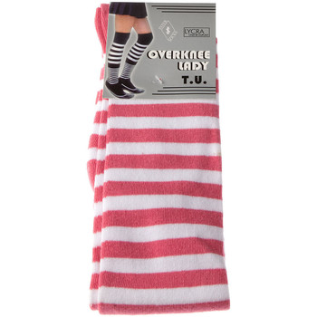Accessoires textile Femme Chaussettes Intersocks Jambière courte - Mode - Overknee Lady - Coton Rose