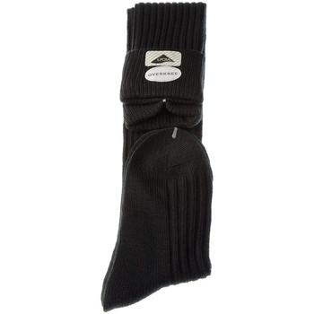 Accessoires textile Femme Chaussettes Intersocks Chaussettes Jambière - Coton - Overknee Lady Noir