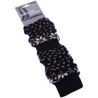 Accessoires Femme Chaussettes Intersocks Guêtre Lady Legwarmer Noir