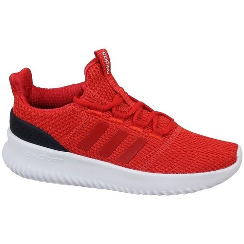 Chaussures Enfant Baskets basses adidas Originals Cloudfoam Ultimate Rouge