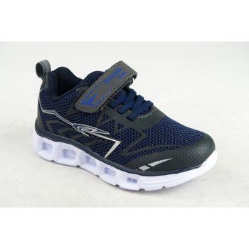 Chaussures Garçon Multisport Bubble Bobble Garçon de sport  A2597 bleu Bleu