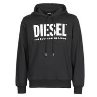 Vêtements Homme Sweats Diesel GIR-HOOD-DIVISION Noir