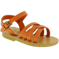 Chaussures Fille Sandales et Nu-pieds Attica Sandals HEBE CALF ORANGE arancio