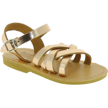 Chaussures Fille Sandales et Nu-pieds Attica Sandals HEBE CALF GOLD PINK Oro rosa
