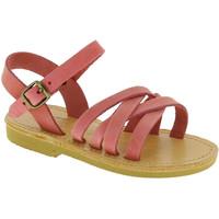 Chaussures Fille Sandales et Nu-pieds Attica Sandals HEBE NUBUK PINK Rosa chiaro
