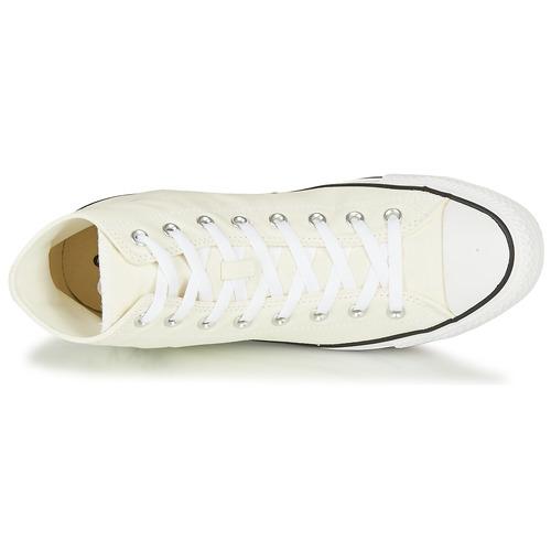 Converse Chuck Taylor All Star Cheerful Blanc - Livraison Gratuite- Chaussures Basket Montante