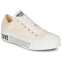 Chaussures Femme Baskets basses Converse CHUCK TAYLOR ALL STAR LIFT - OX Beige