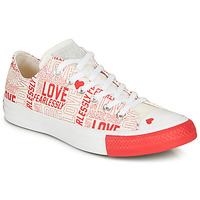 Chaussures Femme Baskets basses Converse CHUCK TAYLOR ALL STAR - OX White / Red