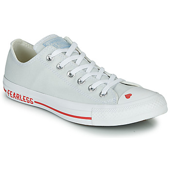 Chaussures Femme Baskets basses Converse CHUCK TAYLOR ALL STAR LOVE CANVAS - OX White / Rouge