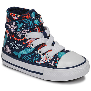 Chaussures Fille Baskets montantes Converse CHUCK TAYLOR ALL STAR 1V UNDERWATER PARTY Bleu