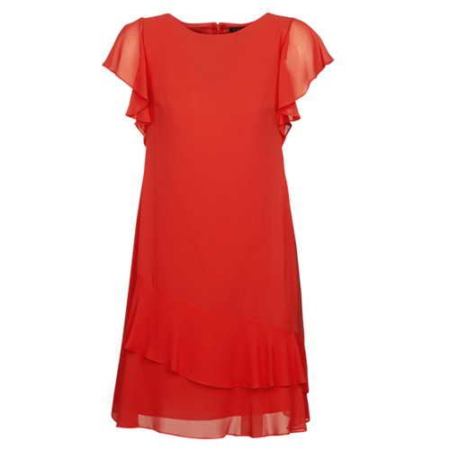 Vêtements Femme Robes courtes Lauren Ralph Lauren Arolde Rouge