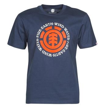 Vêtements Homme T-shirts manches courtes Element SEAL Marine
