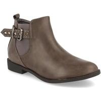 Chaussures Femme Bottines H&d HD-67 Gris