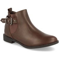 Chaussures Femme Bottines H&d HD-67 Marron