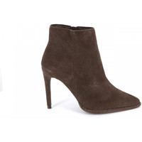 Chaussures Femme Bottines Ilario Ferucci Bottine en cuir ACOLYTE Taupe
