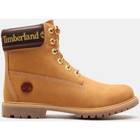 Chaussures Femme Bottines Timberland 6in prem w/sock colar Marron
