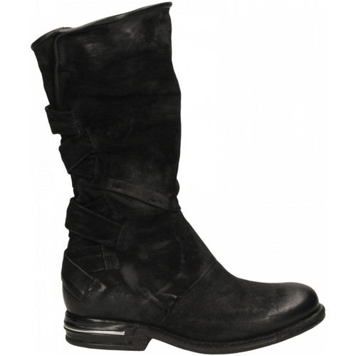 Chaussures Femme Bottes ville Airstep / A.S.98 STIVALE 6002-nero