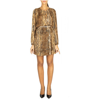 Vêtements Femme Robes courtes Liu Jo ABITO SABLE u9374-natural-snake