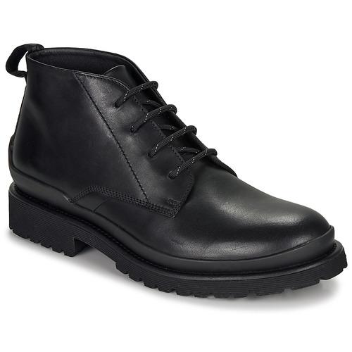 Chaussures Homme Boots HUGO SCOUT DESB IT Noir