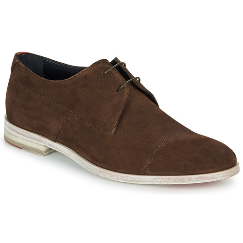 Chaussures Homme Derbies HUGO MIDTOWN DERB SD Marron