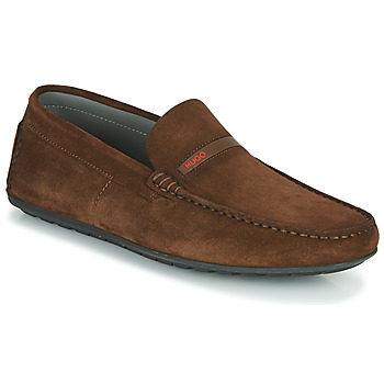 Chaussures Homme Mocassins HUGO DANDY MOCC SD2 Marron