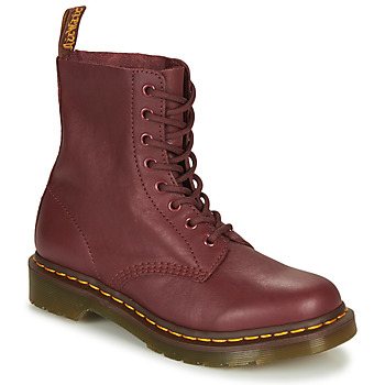 Chaussures Femme Boots Dr Martens 1460 Pascal Red