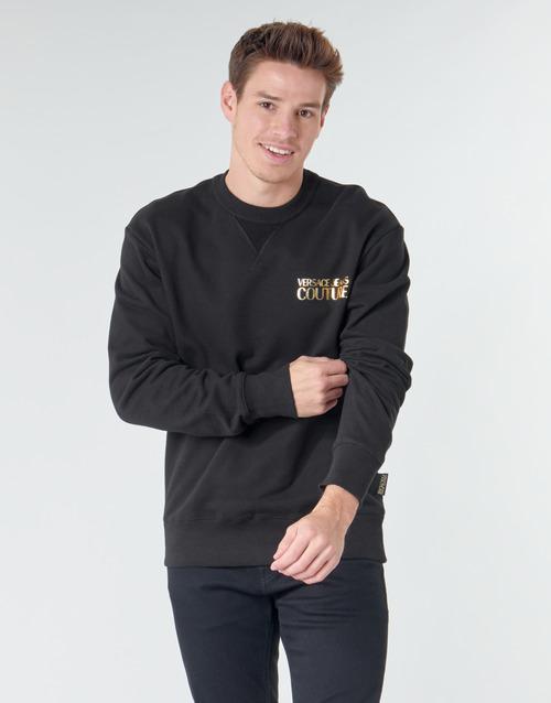 Vêtements Homme Sweats Versace Jeans Couture B7GVA7FB Noir / Dore