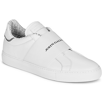 Chaussures Homme Baskets basses John Galliano 2244A Blanc