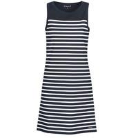 Vêtements Femme Robes courtes Armor Lux BELLE ILE Marine / Blanc