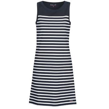 Vêtements Femme Robes courtes Armor Lux YITINE Marine / Blanc