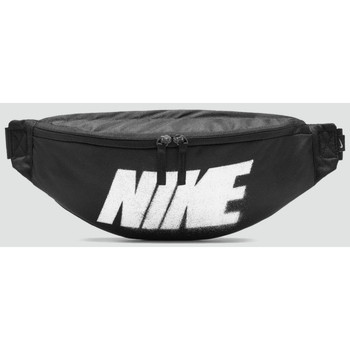 Sacs Sacs banane Nike Accessoires NIKE SPORTSWEAR HERITAGE HIP PACK NOIR Noir