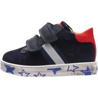 Chaussures Garçon Baskets mode Falcotto - Sneaker blu LERYN VL BLU
