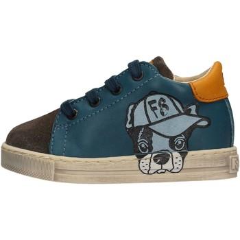 Chaussures Garçon Baskets basses Falcotto - Sneaker azzurro NINO AZZURRO