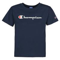 Vêtements Femme T-shirts manches courtes Champion KOOLATE Marine